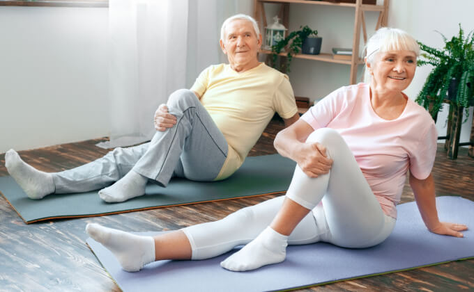 elderley exercise classes